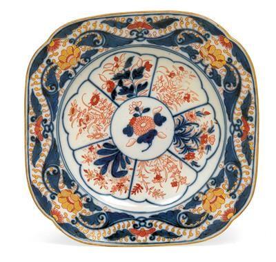 Plate with Imari decoration,