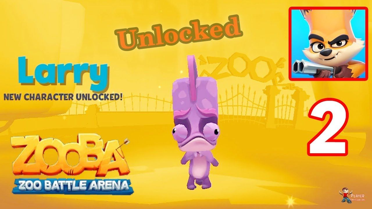 Zooba Fun Battle Royale Games Larry New Character Unlocked Android Ios Battle Royale Game Battle Online Battle