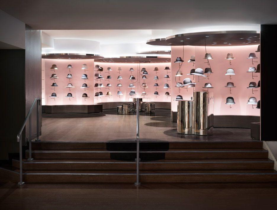 Superior Seibu Shibuya Nendo Fashion Hat Store Interior Tokyo