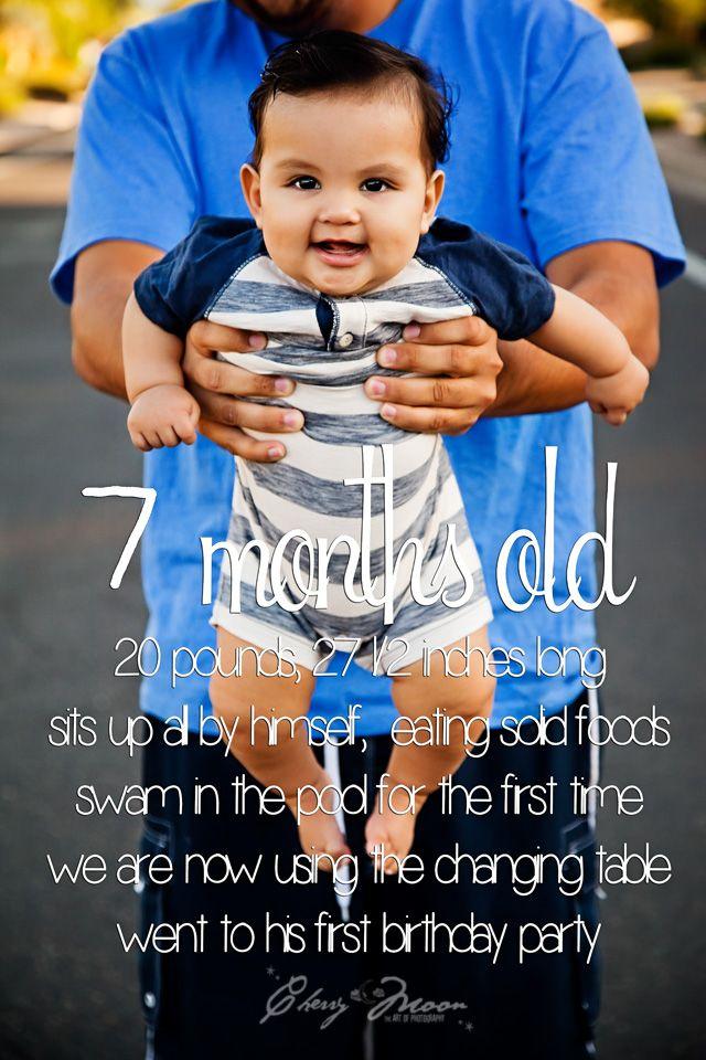 A New Way To Update Birthdays Milestones For My Blog Baby Boy