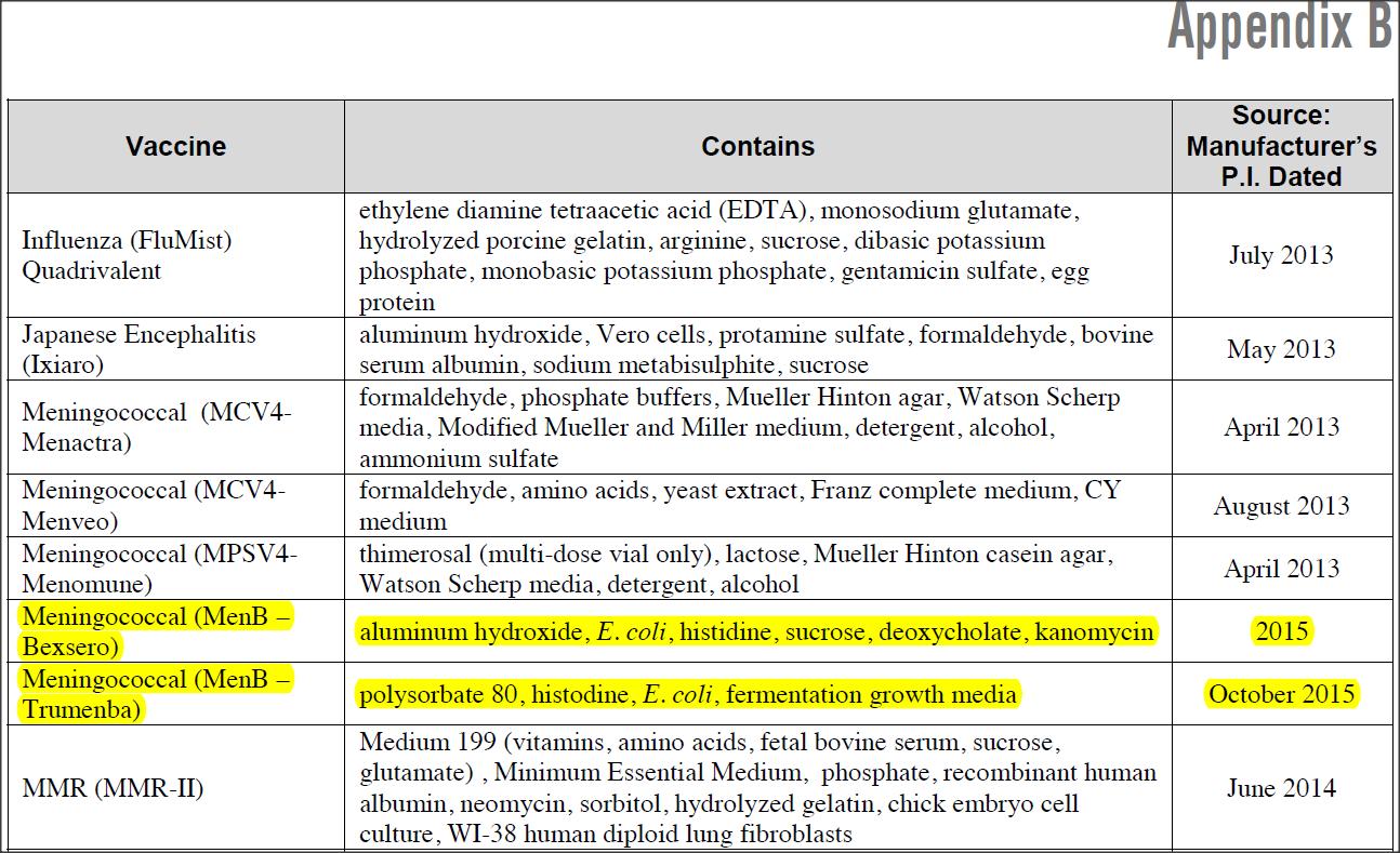 What meningitis vaccines are there — photo 2
