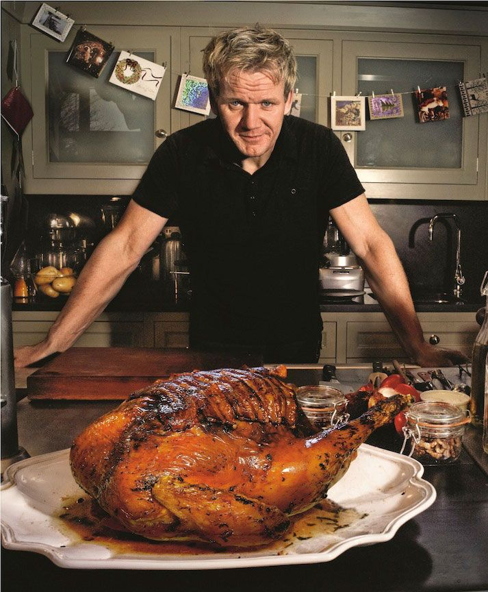 Gordon ramsay shares a stunning traditional christmas recipe of roast turkey with a breadcrumb - Christmas pork roast five recipes ...