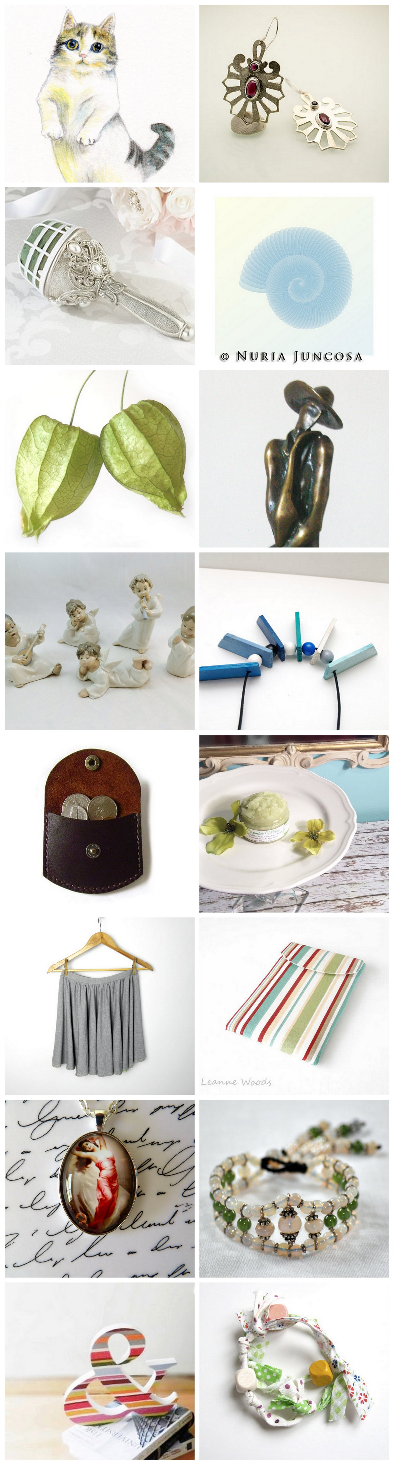 beautiful Etsy treasury~A CLEAR DAY....
