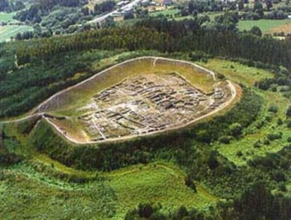 Cantabria Celtic Castro De Viladonga Celtic Hill Fort