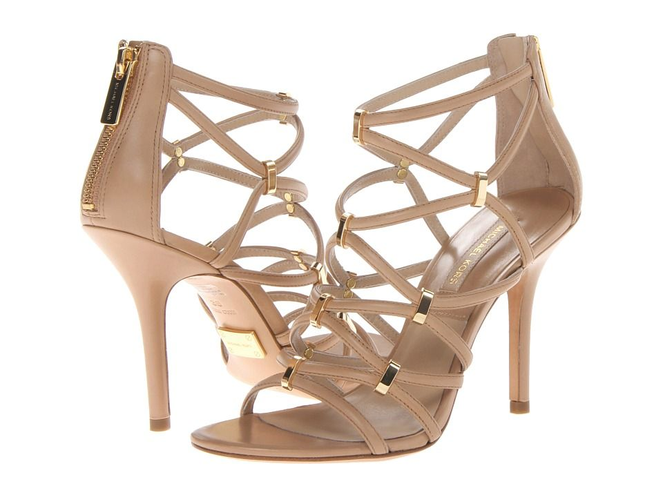 Michael Kors Collection - Charlene Toffee Smooth Calf · Women Shoes HeelsOmg  ...