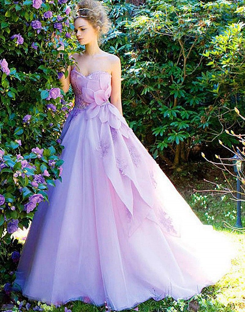 11 vestidos de novia de colores que NO son blanco | Vestidos de ...