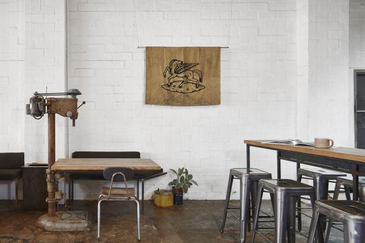 Flat Track Coffee By Lilianne Steckel Interior Design Austin Texas Retail Blog