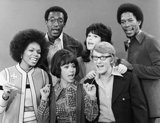 The original cast of the electric company in 1971 lee chamberlin the original cast of the electric company in 1971 lee chamberlin bill cosby thecheapjerseys Image collections