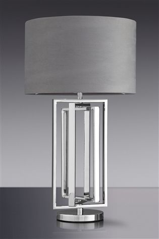 Buy Collection Luxe Tate Chrome Table Lamp From The Next Uk Online Shop Lamp Table Lamp Chrome Table Lamp