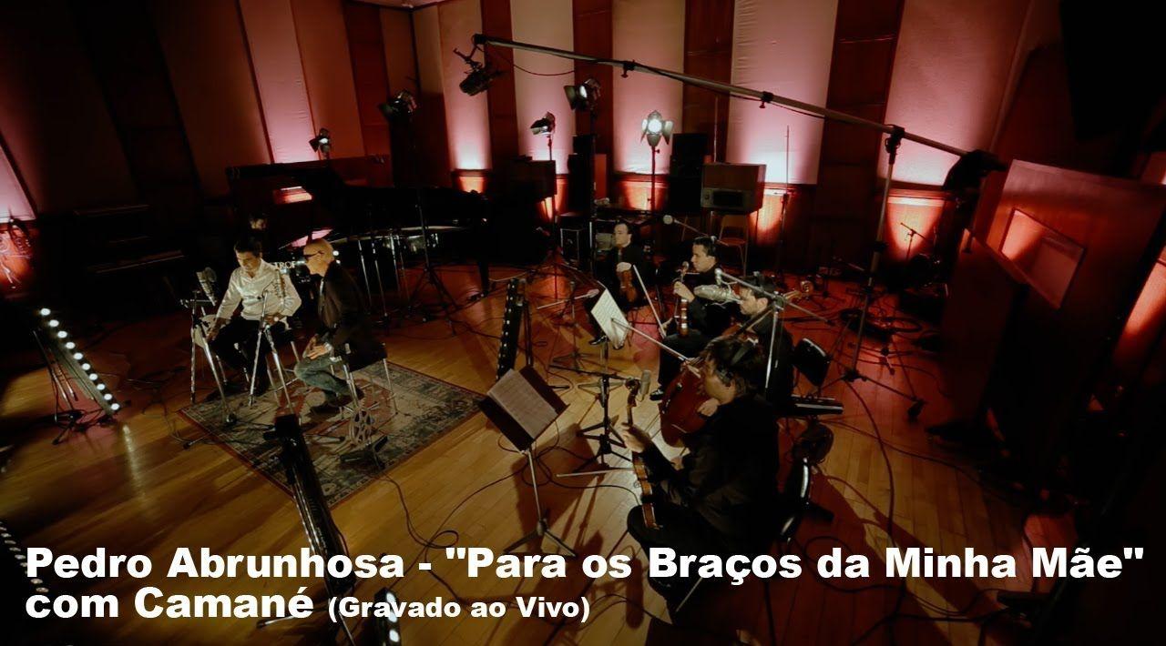 """Pedro Abrunhosa - """"Para os Braços da Minha Mãe"""" com Camané (Gravado ao V..."""