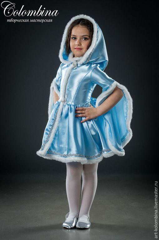 Купить костюм снегурочки - голубой, снегурочка, костюм ... - photo#15