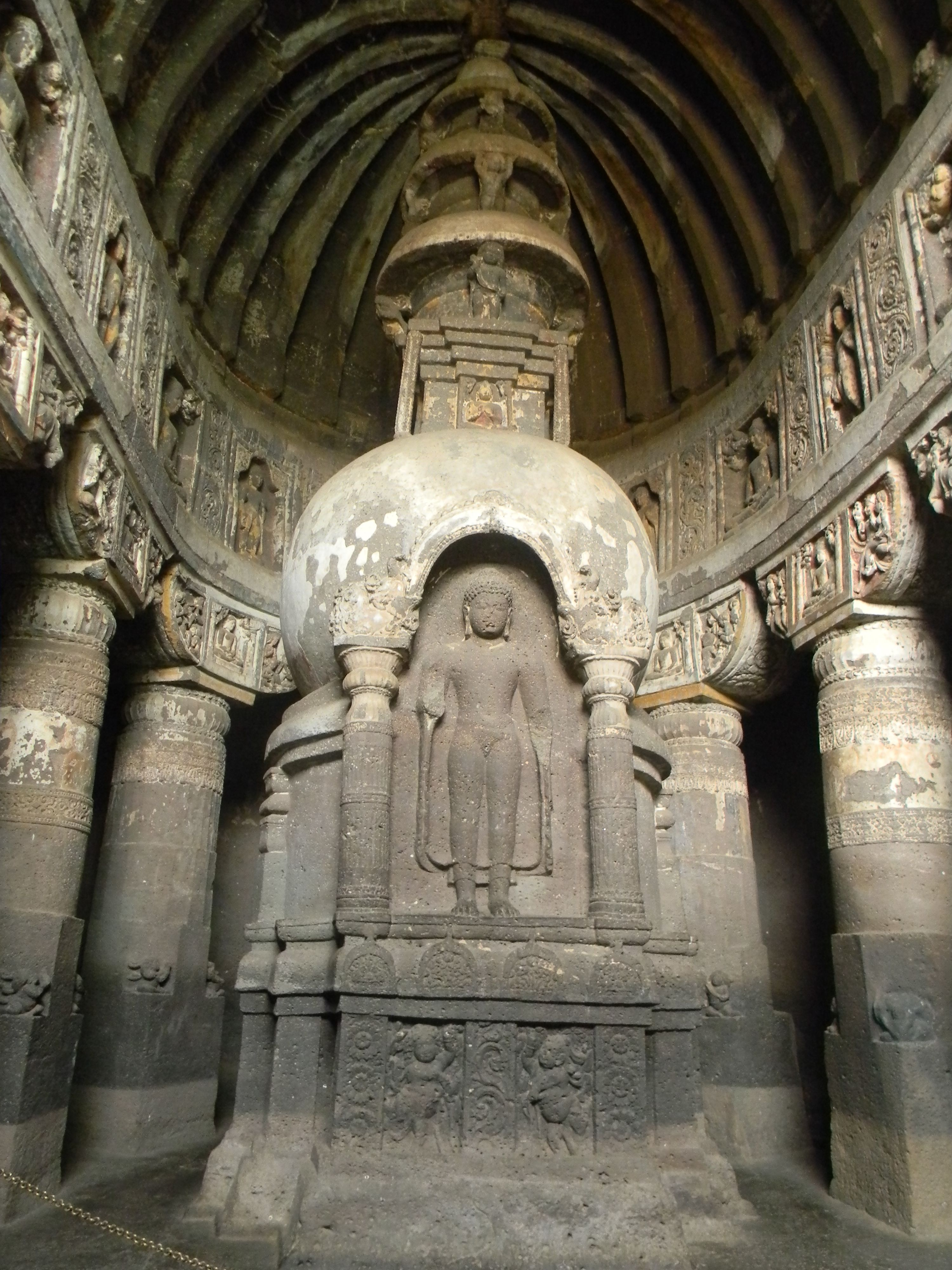 essay on ajanta ellora Management issues of ajanta caves archaeological survey of india is the sole department responsible for maintaining and managing the site through its various branches like conservation, science and horticulture.