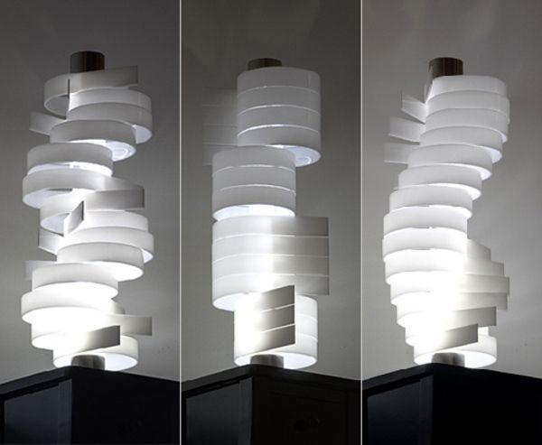 Creative piling of shapes lamp sparked several designs in my initial ideas lamp designs - Creative lamp shades ...