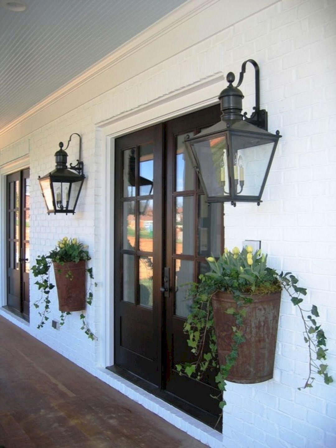 Door Update Ideas Add A Planter Box Front Decor