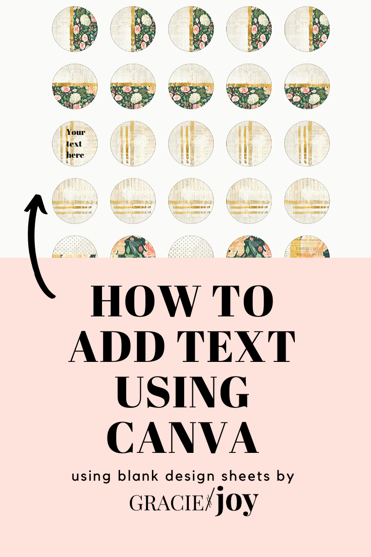 How to add text in Canva in 2020 Personalized quotes