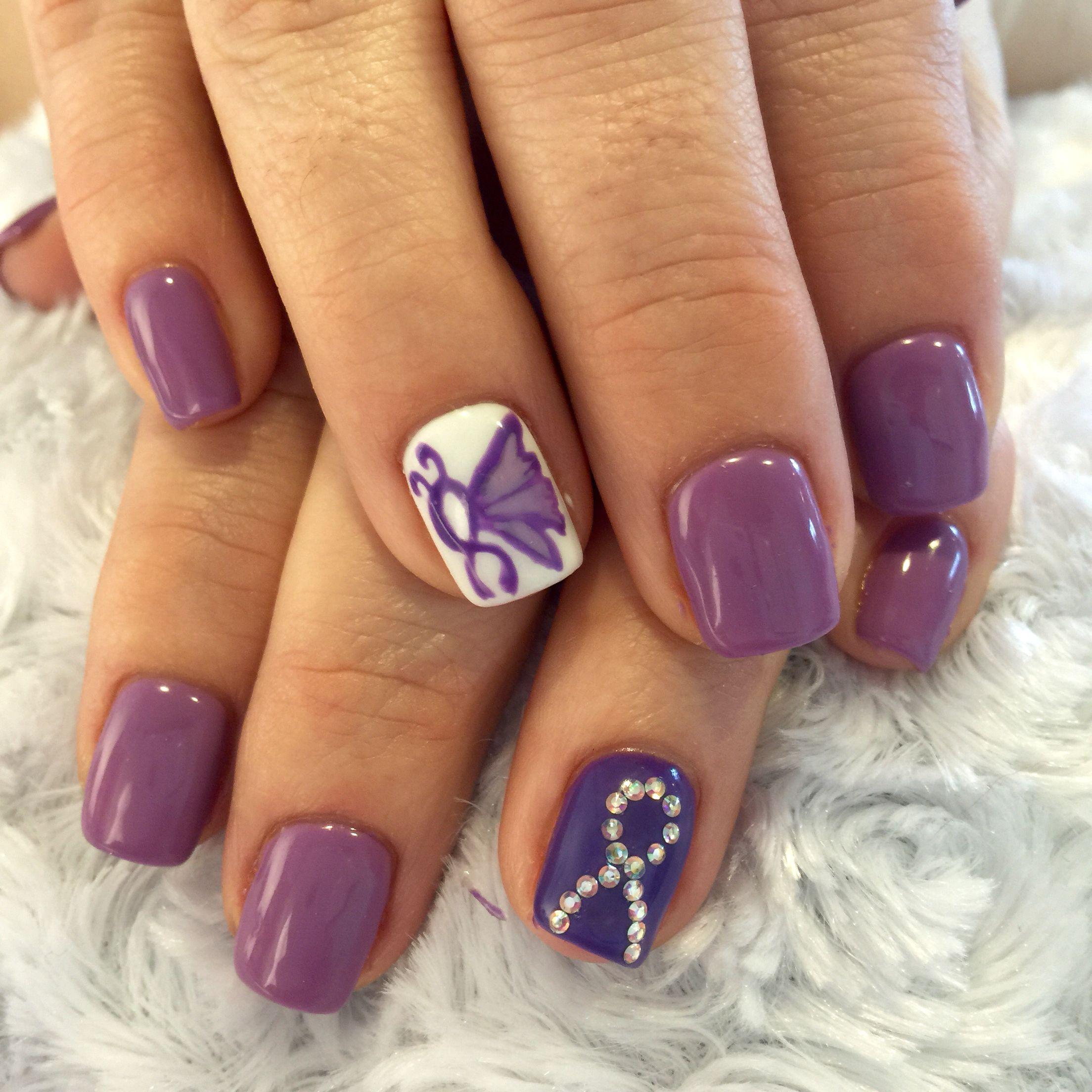 Epilepsy Awareness Nails Fancy Nails Pastel Nails Designs Nails By Lisa