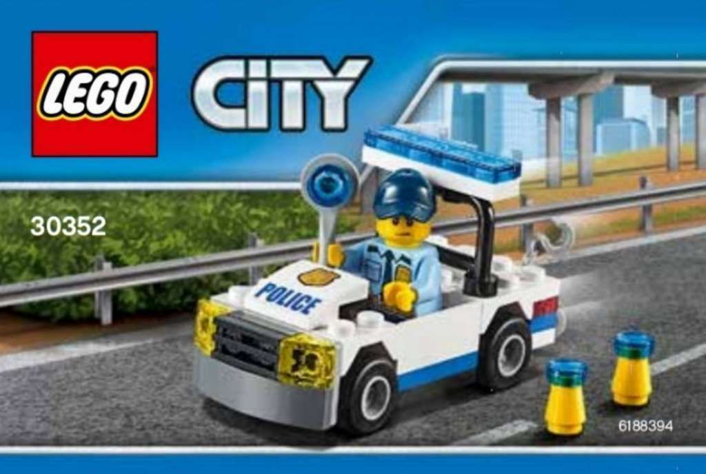 Lego City Police Car 30352 Polybag New Toys And Games Lego Police Car Lego City Lego City Police