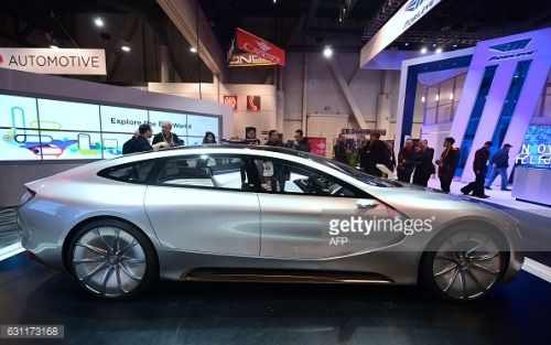 LeEco's LeSee Pro concept car on display at the 2017... #fuschlamsee: LeEco's LeSee Pro concept car on display at the 2017… #fuschlamsee