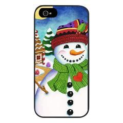 Happy Snowman #iPhone5 Case > Just iPhone5 Cases! > #PatriciaSheaDesigns on #CafePress