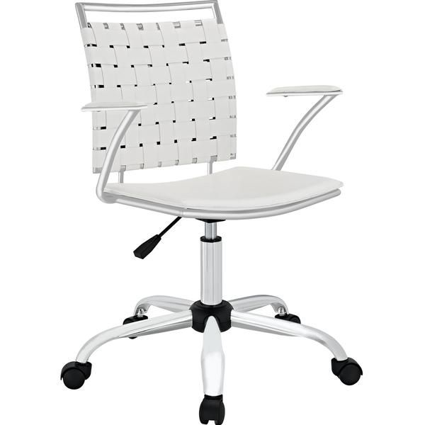 durable pvc home office chair. Buy Modway Fuse Office Chair White EEI-1109-WHI Online. Best Price. Durable Pvc Home R