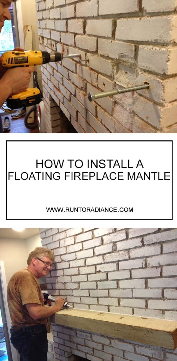 How To Install A Floating Mantle The Easy Way In Just One