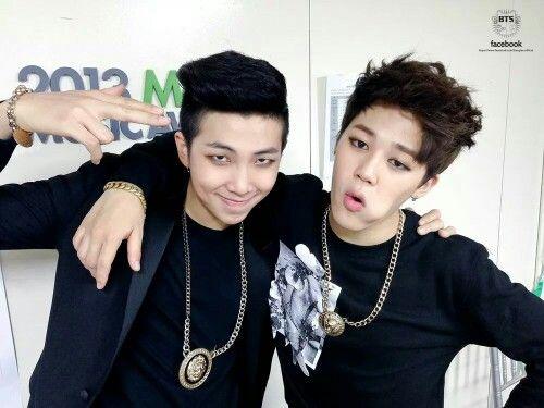 Bangtan Boys - Namjoon (rapmon) & Jimin (FB)