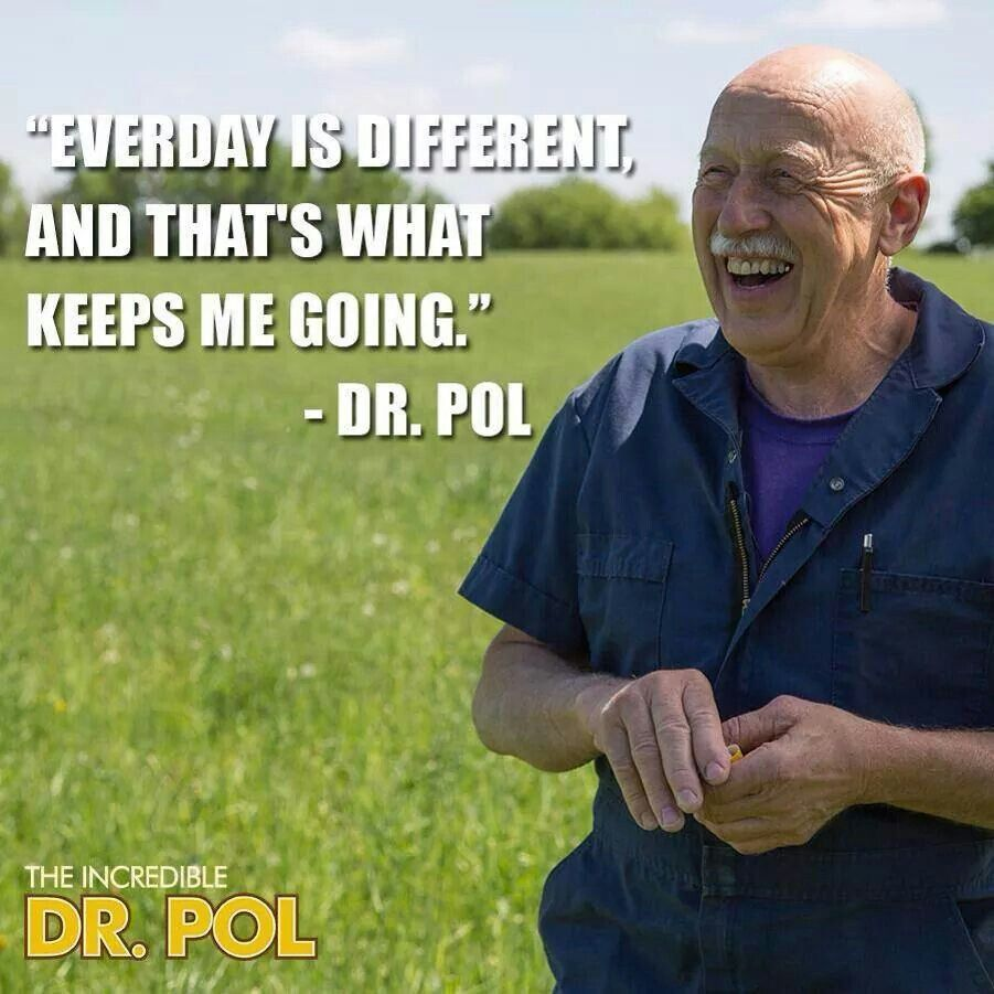 Dr. Pol is truly incredible!!! Vet medicine, Incredible