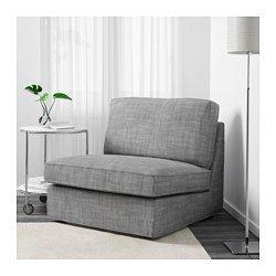 KIVIK 1-seter seksjon - Isunda grå - IKEA