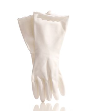 Mr. Clean rubber gloves