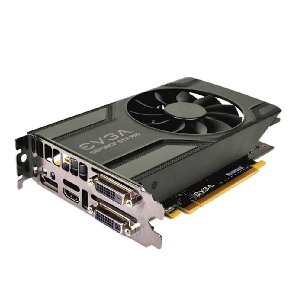 EVGA GeForce GTX 950 Superclocked Gaming 2GB GDDR5 PCI Express (PCIe) Dual DVI-DisplayPort Video Card w-HDMI