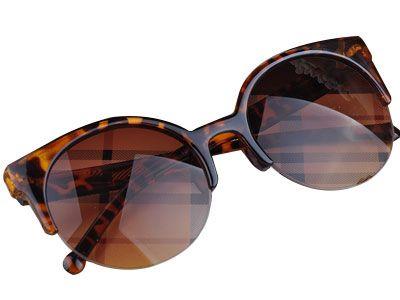 c4213f362d6e2 ALIOFERTAS BRASIL Óculos de sol estilo retrô com lentes ar ...