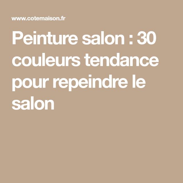 Peinture salon : 43 couleurs tendance pour repeindre le salon