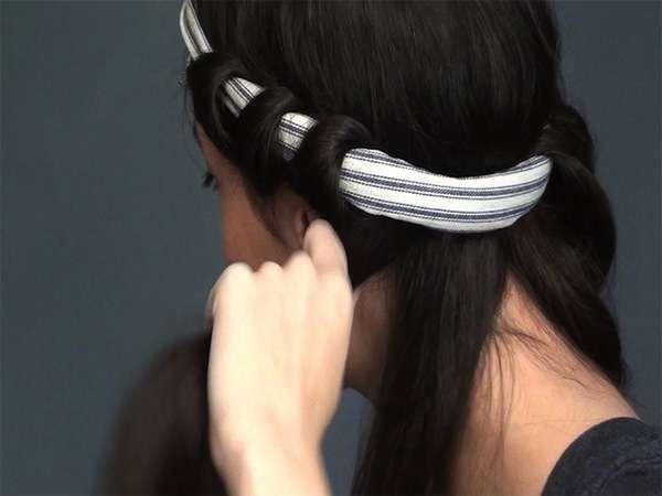 fascia | Capelli ondulati tutorial, Onde capelli lunghi ...