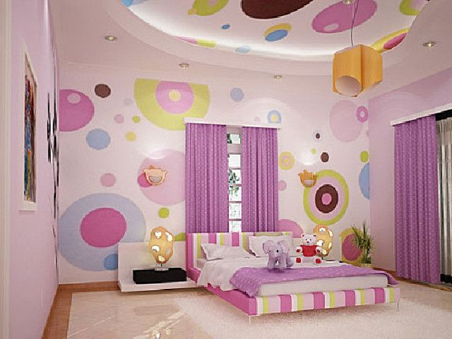 déco chambre de fille de 10 ans | Room-House | Girl bedroom walls ...