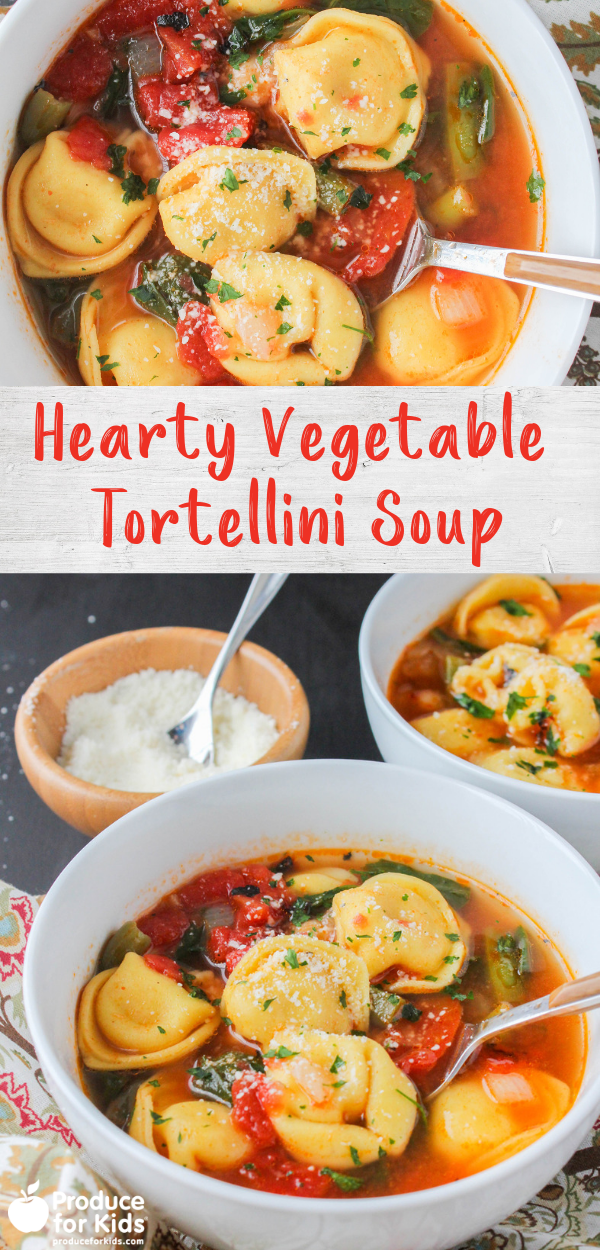 Hearty Vegetable Tortellini Soup Recipe In 2020