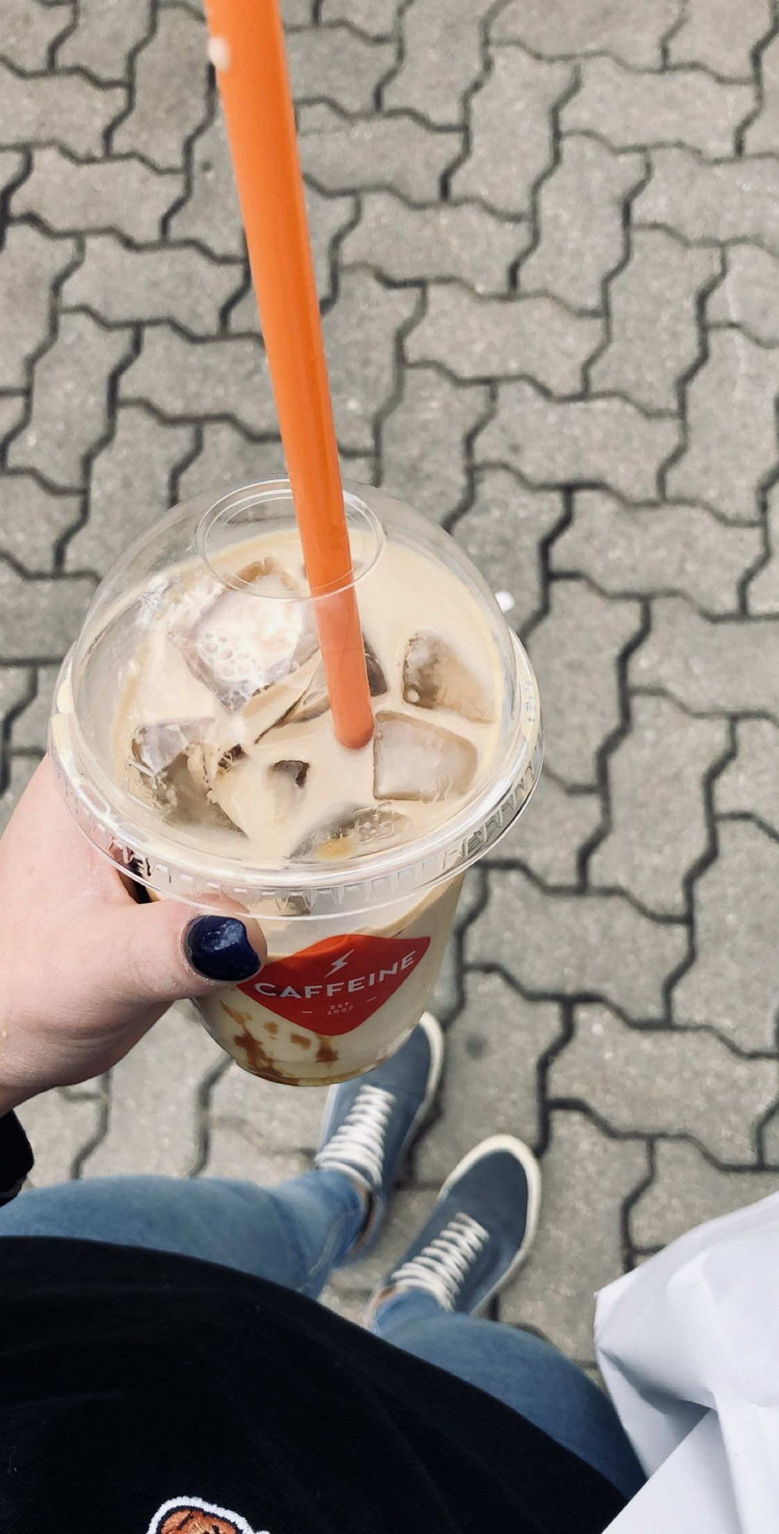 Caffeine ice coffee in 2020 Iced coffee, Ice cream, Caffeine