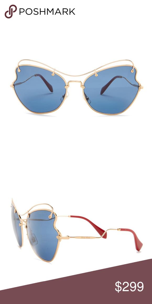 53b02a39d81 MIU MIU Heart Oversized Scenique Sunglasses Miu Miu Scenique. Heart-shaped  frame front with