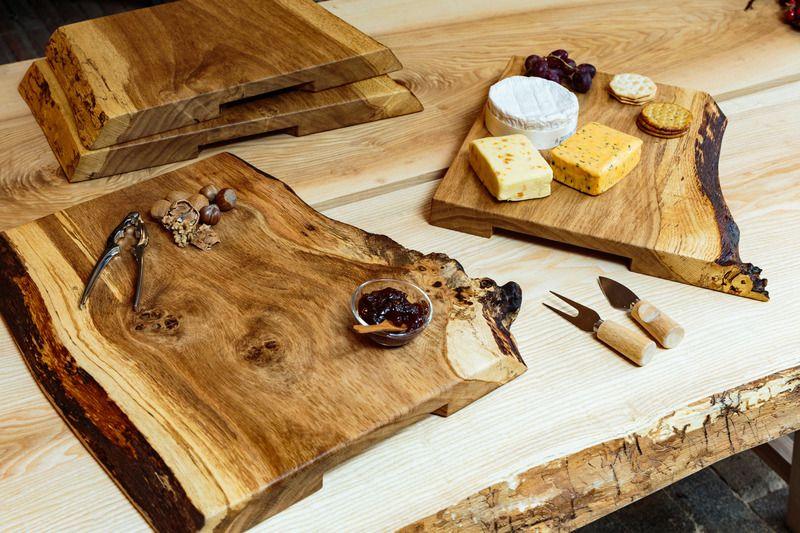 Live Edge Cheese Board Large Wood Cheese Board Cheese Board Diy