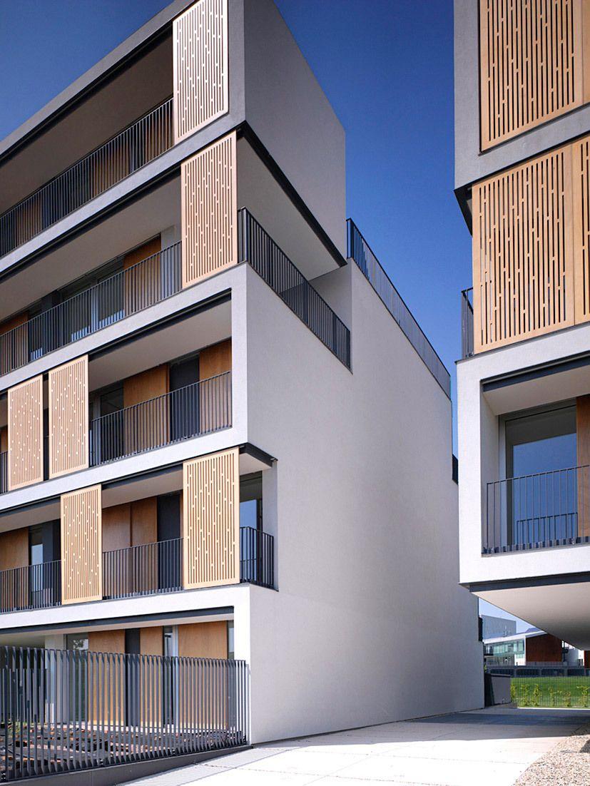 Milanofiori Housing Complex By Obr Facade Architecture Architecture Amazing Architecture