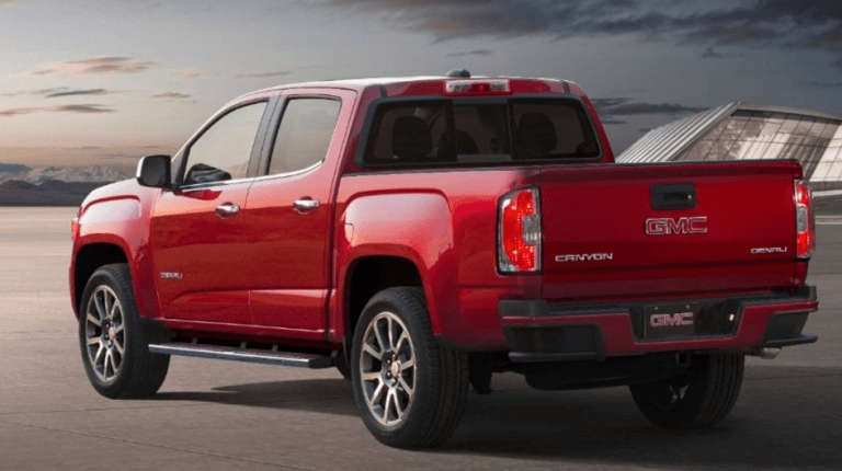 2020 Gmc Canyon Redesign Spied Release Date Price Gmc Canyon Denali Car Gmc