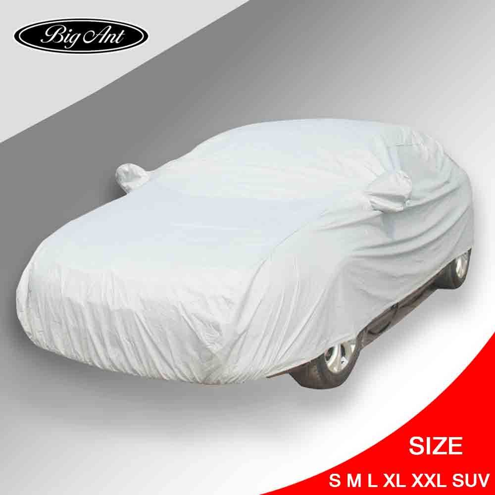 Car accessories universal outdoor waterproof full car cover sun shade uv snow dust rain snow resistant