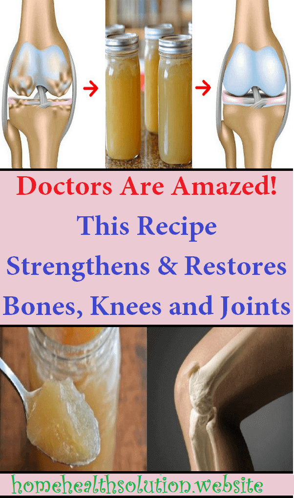 Doctors Are Amazed! This Recipe Strengthens and Restores