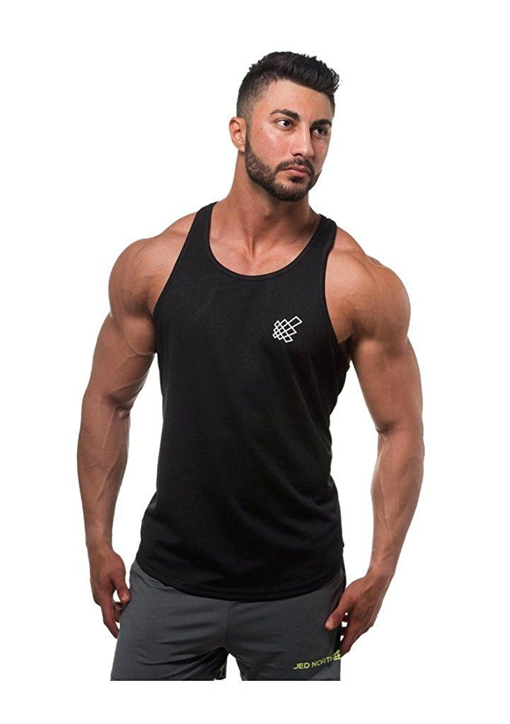 16f3a561a Jed North Men's DRI-FIT Microfiber Bodybuilding Stringer Tank Top at Amazon  Men's Clothing store: