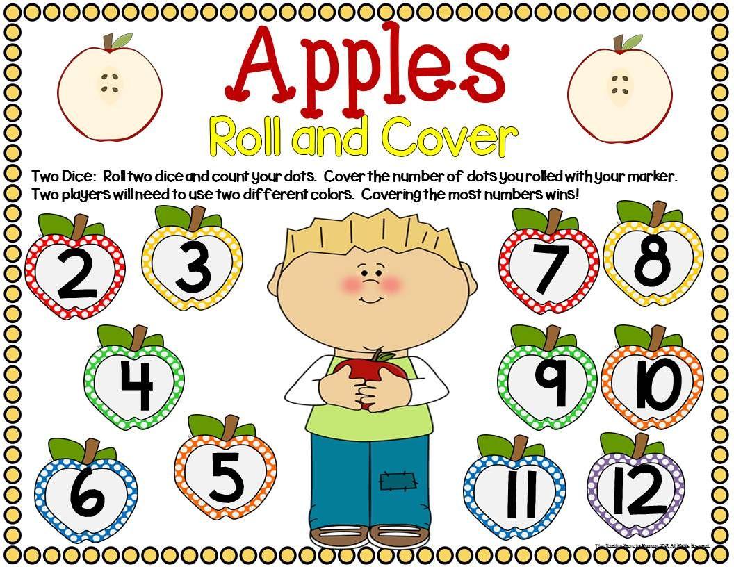 Apple Math Center Dice Games