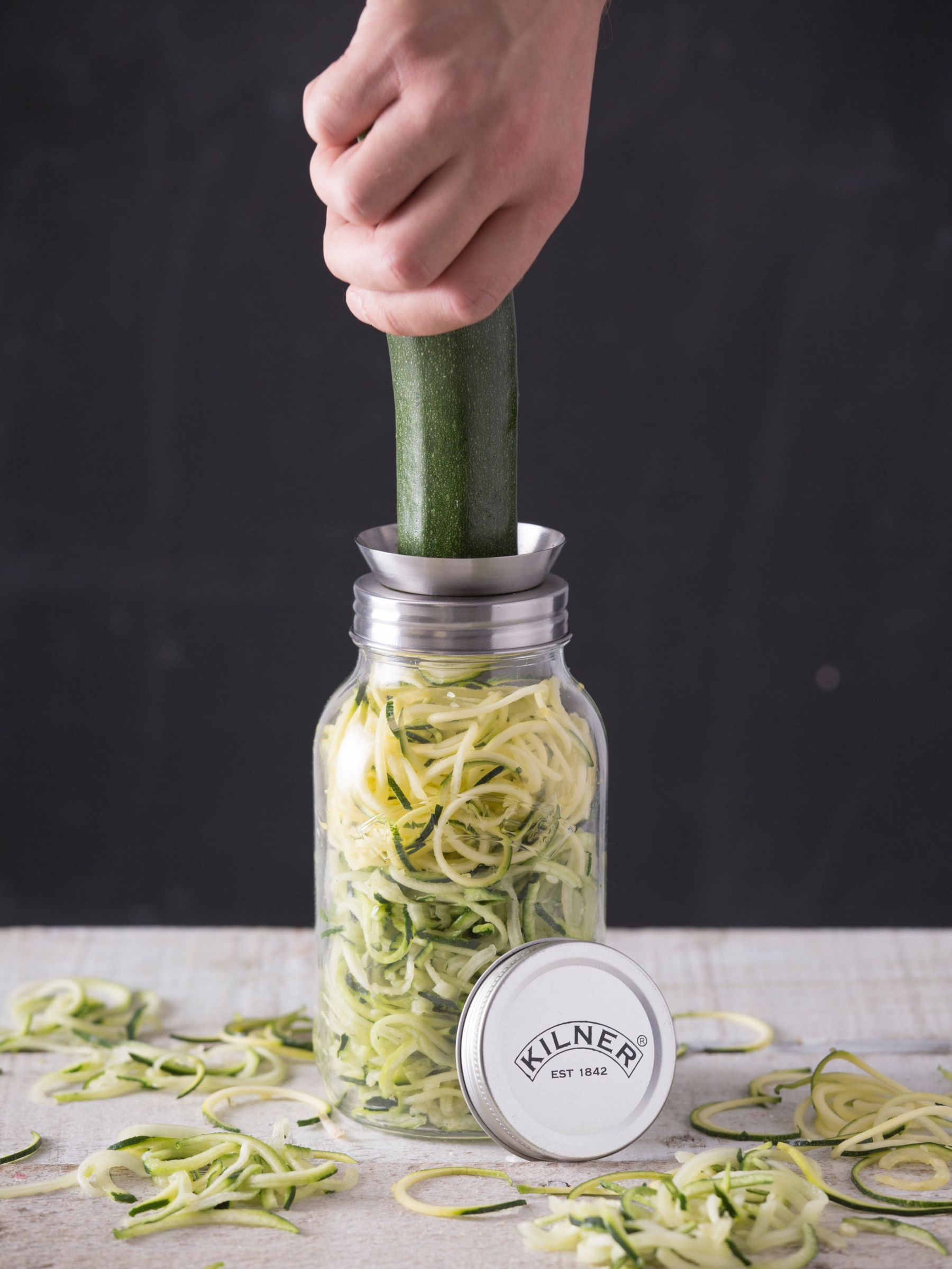 Kilner Spiralizer & 1L Storage Jar Set in 2020 Jar, Wine