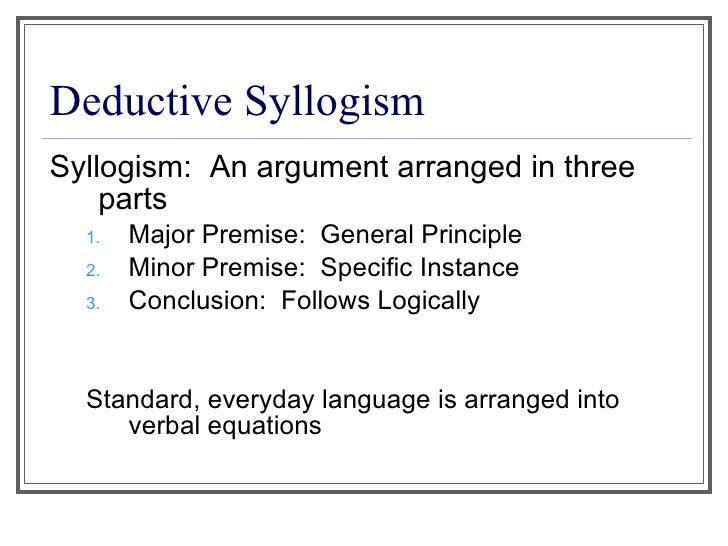 Syllogism Google Search Things To Know Pinterest