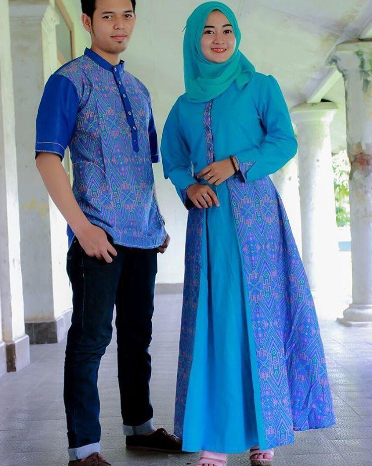 Model Gamis Batik Kombinasi Untuk Orang Gemuk Akan Sangat Membantu