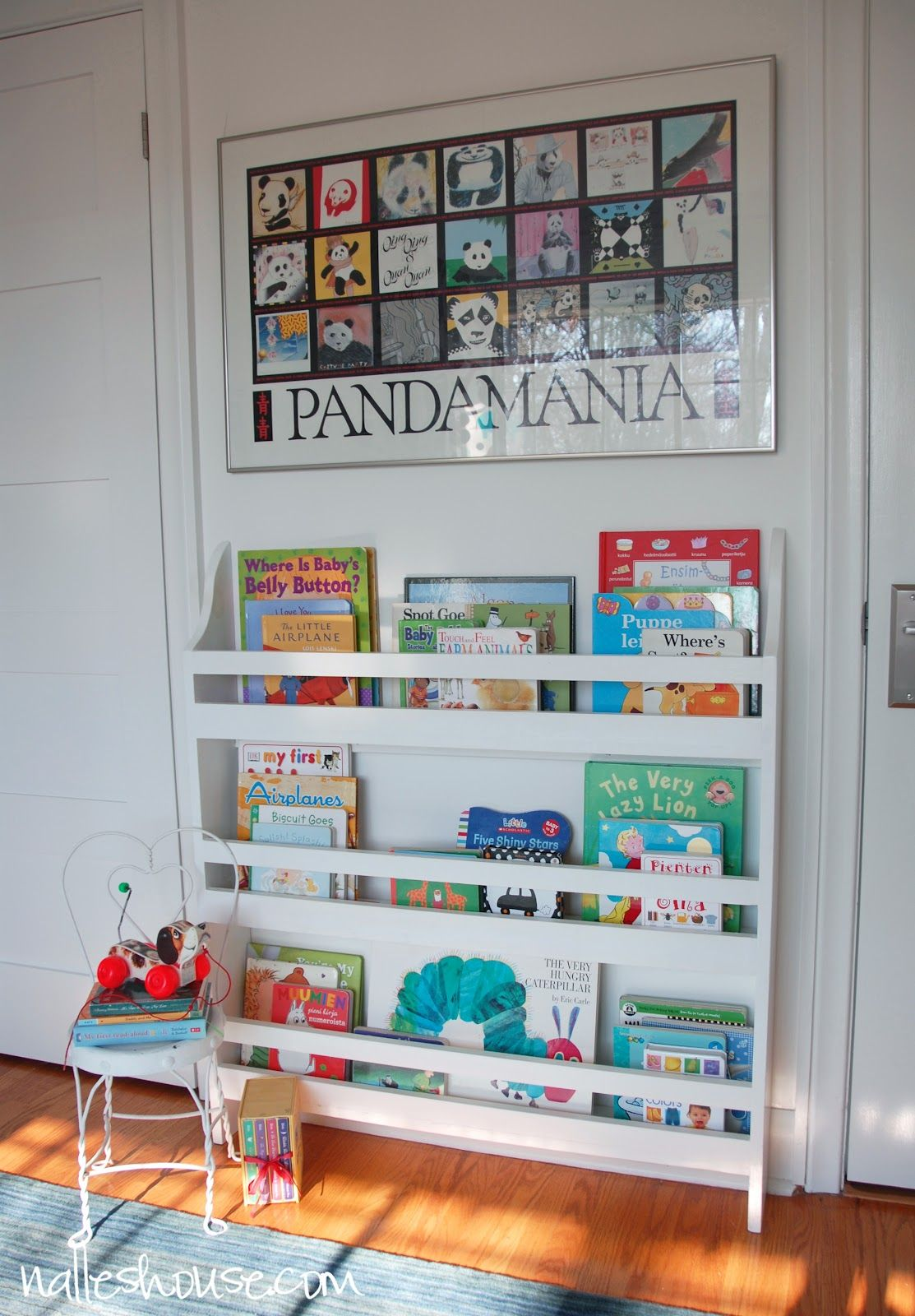 Nalles House DIY Nursery Bookshelf