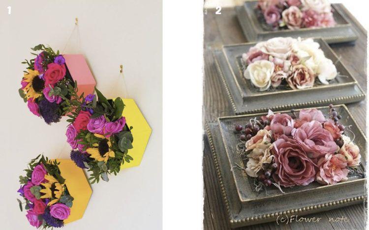 Manualidades Con Flores Artificiales Diy Pinterest Artificial - Manualidades-con-flores-artificiales