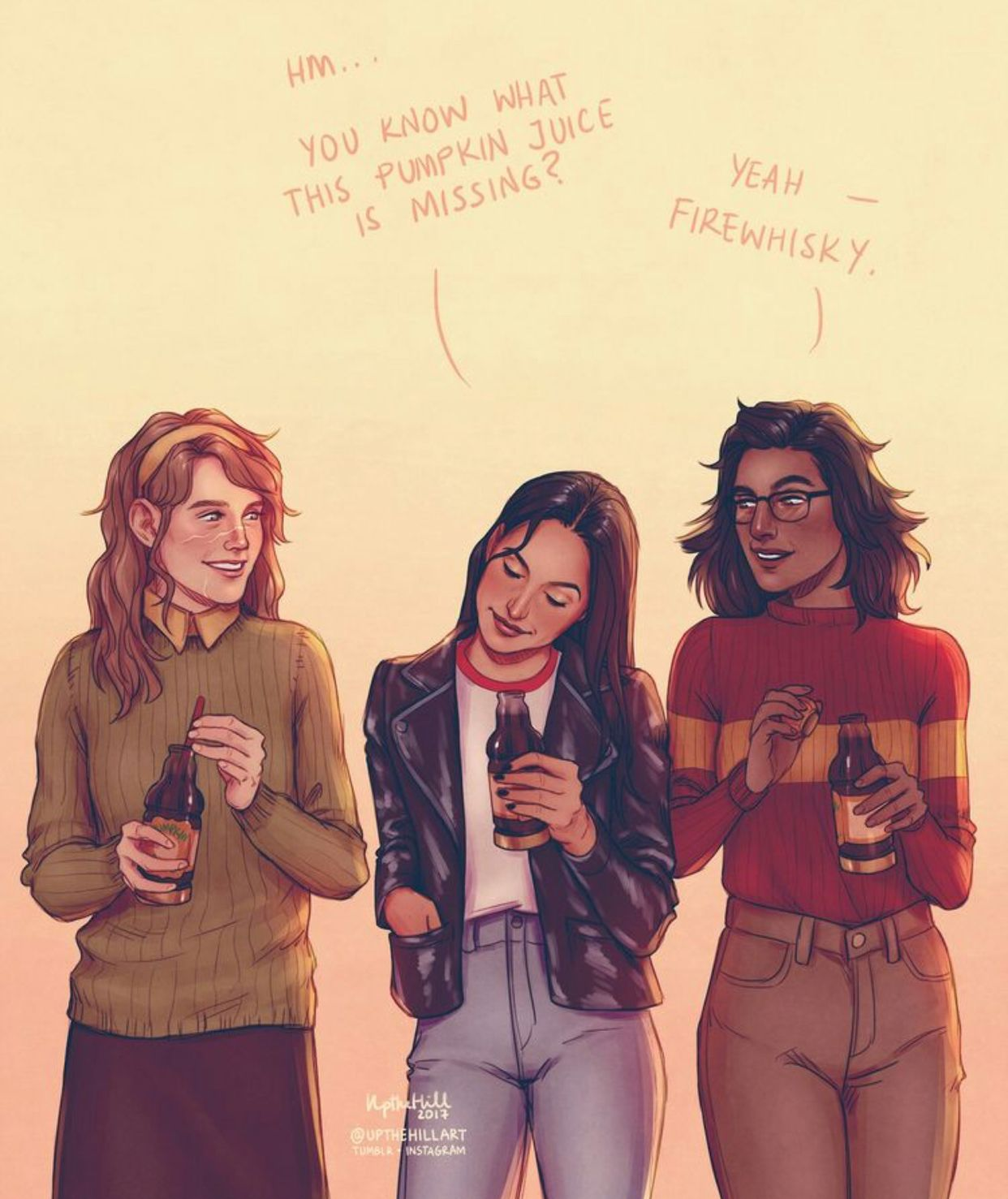James Potter Libros Genderbent Remus Lupin Sirius Black And James Potter
